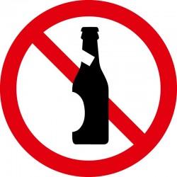 Flaske forbudt