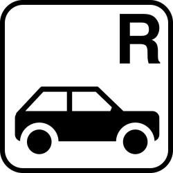 Pladsreservation for personbil