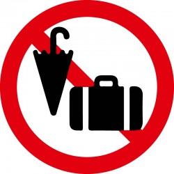 Håndbagage forbudt