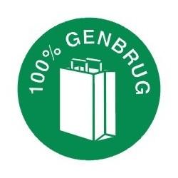 100% Genbrug