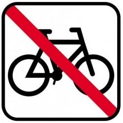 Henstillen af cykler ikke tilladt