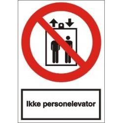 Ikke personelevator
