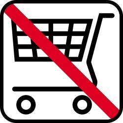 Indkøbsvogn ikke tilladt