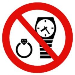 Ure / smykker forbudt