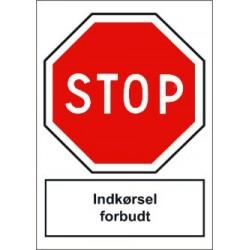 STOP! Indkørsel forbudt