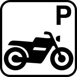 Motorcykelparkering