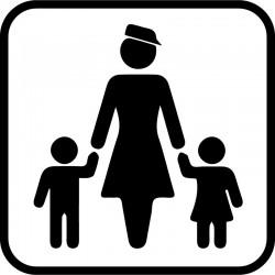 Børn under 6 år skal følges med en voksen
