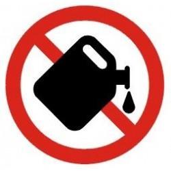 Benzinpåfyldning forbudt