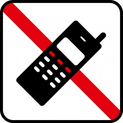 Ingen mobiltelefon