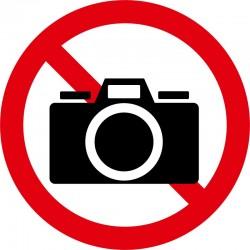 Kamera forbudt