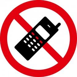 Mobiltelefon forbudt