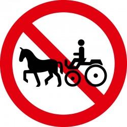 Hestevogne forbudt