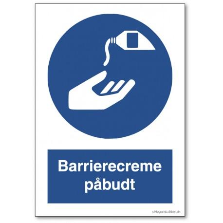 Barrierecreme påbudt