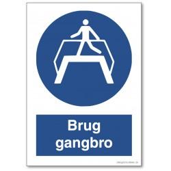 Brug gangbro