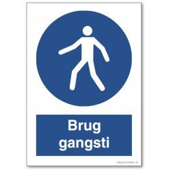 Brug gangsti