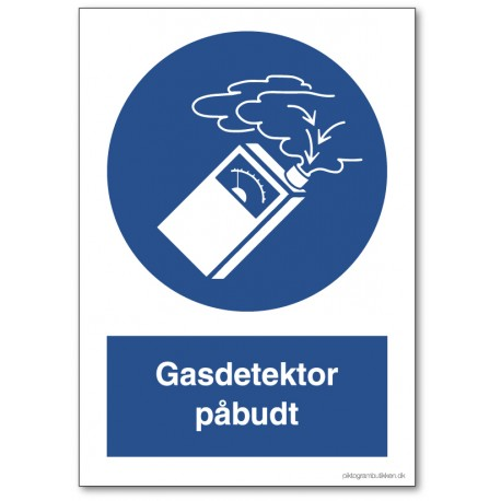 Gasdetektor påbudt
