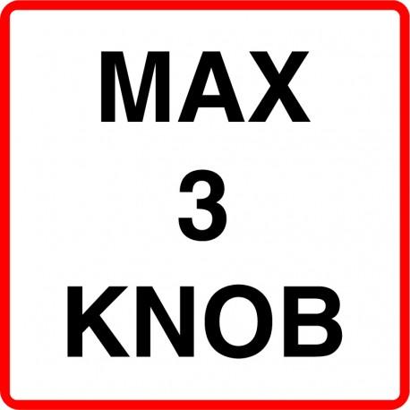 Max X knob