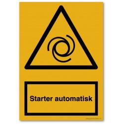 Starter automatisk