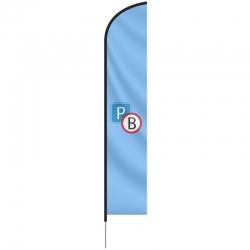 Beachflag 89x165 cm
