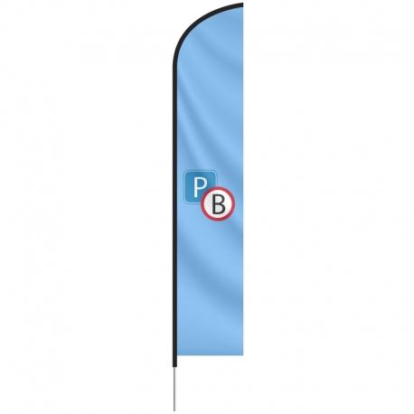Beachflag Large, 89x345 cm