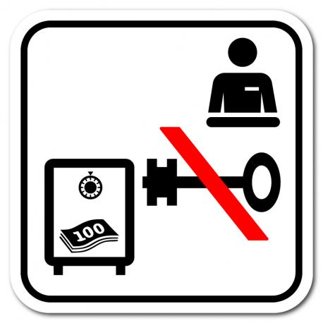 Pengeskab/nøgle