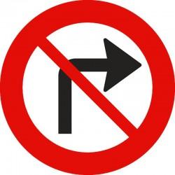 Svingning til højre forbudt