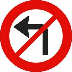 Svingning til venstre forbudt