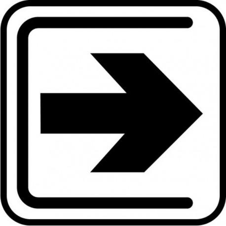 Udgang, henvisning til