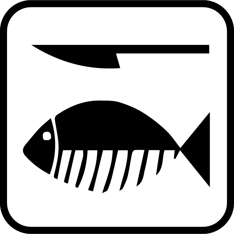 Camping - Rensning af fisk