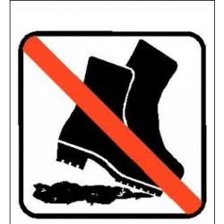 Ingen snavset fodtøj