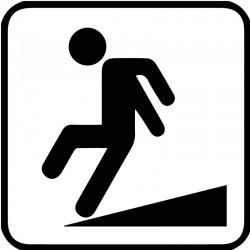 Skråt gulv